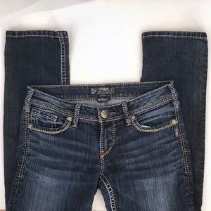 Silver Jeans Berkley 28/32 Dark Wash